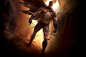 Batman On The Way Wallpaper