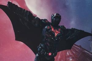 Batman Open Cape Wallpaper