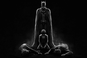 Batman Parents Death 4k Wallpaper