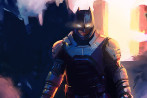 Batman Portrait Art