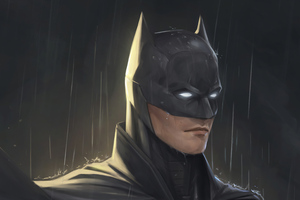 Batman Raining Wallpaper