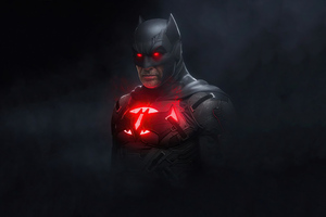 Batman Red 4k 2020 Art Wallpaper