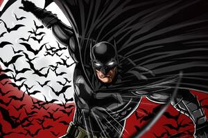 Batman Red Bats