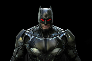 Batman Red Eye 4k