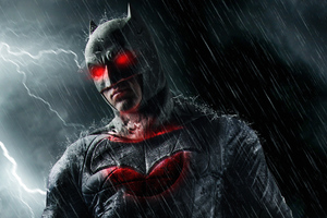 Batman Red Eye Wallpaper