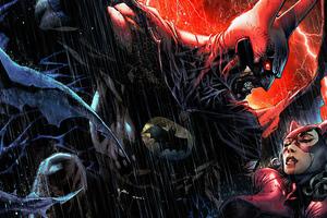 Batman Red Rain 4k