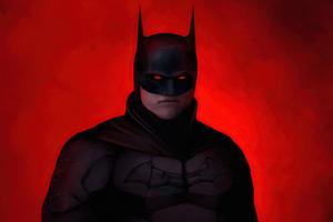 Batman Redness 4k