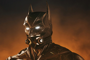 Batman Respirator Mask 4k Wallpaper