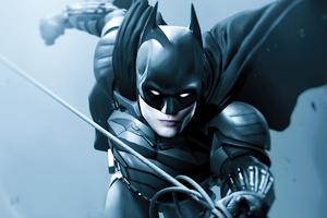 Batman Robert Coming