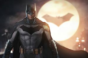 Batman Robert Pattinson Art Wallpaper