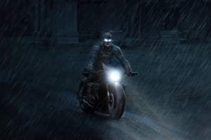 Batman Robert Pattinson On Bike 4k