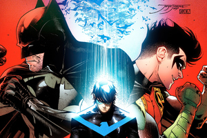 Batman Robin And Nightwing