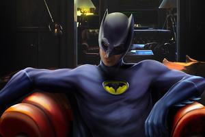 Batman Sitting