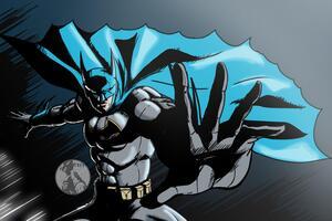 Batman Sketch Art 5k Wallpaper