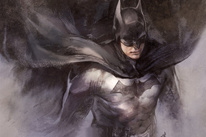 Batman Sketch Artwork Wallpaper