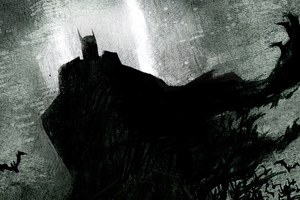 Batman Sketch Newart Wallpaper