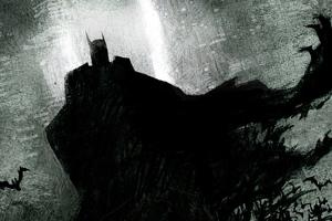Batman Sketch Newart Wallpaper