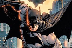 Batman Sketchy Art