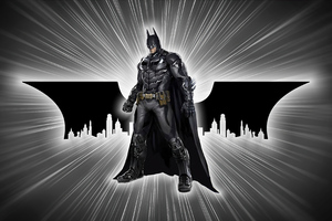 Batman Skyline 4k Wallpaper