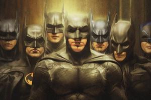 Batman Squad Wallpaper