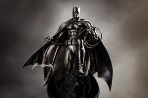 Batman Statue 5k Wallpaper