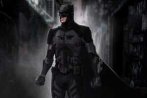 Batman Suit 4k