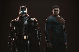 Batman Superman Cgi Wallpaper