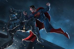 Batman Superman Fight New