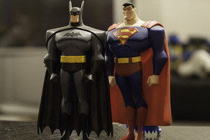 Batman Superman Toys Wallpaper