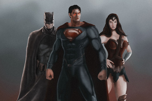 Batman Superman Wonder Woman Arts