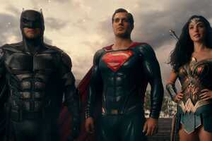 Batman Superman Wonder Woman In Justice League