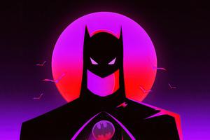 Batman Synthwave Wallpaper