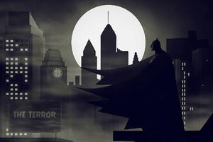 Batman Terror Wallpaper