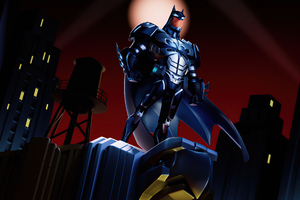 Batman The Animated Series Fan Art 4k