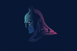 Batman The Dark Knight Minimal Wallpaper