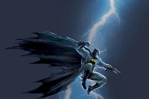 Batman The Dark Knight Storm 4k