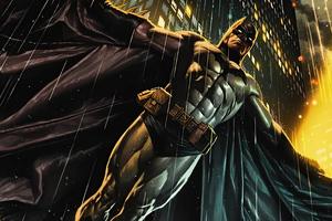 Batman The Great Knight 4k Wallpaper