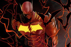Batman The Red Death Fanart Wallpaper