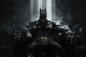 Batman Throne 4k