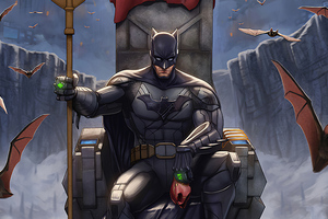 Batman Throne King Wallpaper