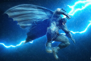 Batman Thunder Silhouette