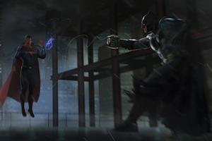 Batman Uses Sling Shot Wallpaper