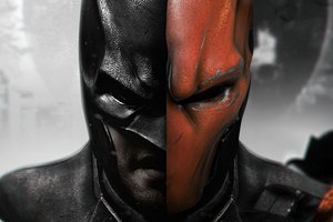 Batman V Deathstroke 5k Wallpaper