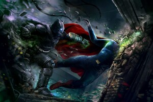 Batman V Superman Best Art Wallpaper