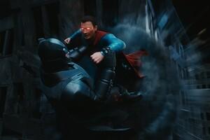 Batman V Superman Digital Art Wallpaper