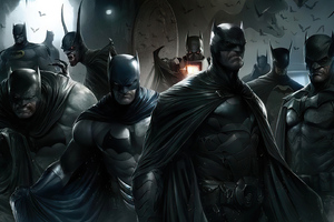 Batman Versions