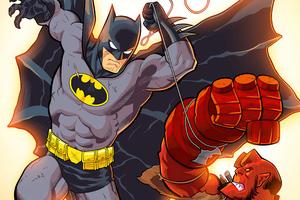 Batman Vs Hellboy