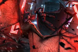 Batman Vs Man Bat