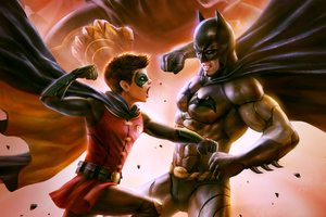 Batman Vs Robin Wallpaper