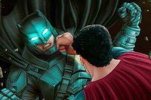 Batman Vs Superman 2020 Art 4k